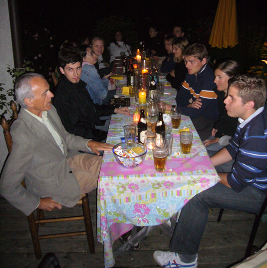 Barbecue party after Dobberstein's seminar